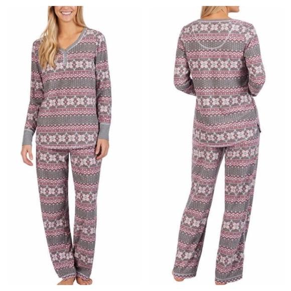 New Nautica Women s 2 Piece Pajamas Set PJs 8395249b8